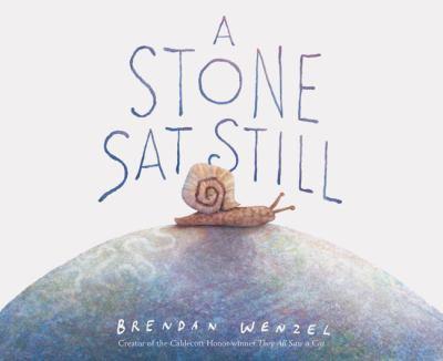 A stone sat still