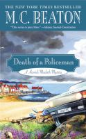 Death of a Policeman by M.C. Beaton Book Cover