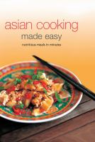 Asian Cooking Made Easy