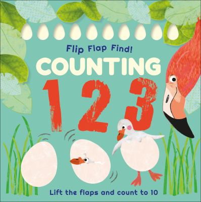 Flip flap find! Counting 123 :  lift the flaps and count to 10