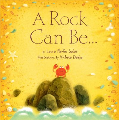 A rock can be...