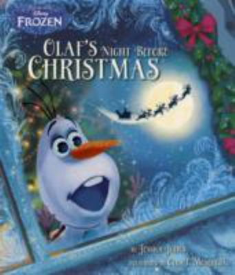 Link to Catalogue record for Olaf's Night Before Christmas