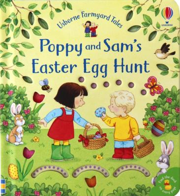 Book cover for Poppy and Sam's Easter egg hunt