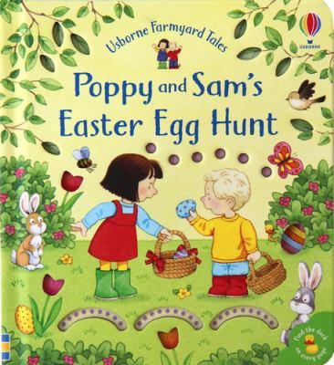 Book cover for Poppy and Sam's Easter egg hunt