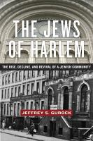 The Jews of Harlem