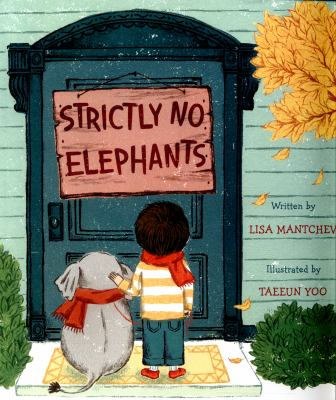 "Book Cover - Strictly no elephants"" title=""View this item in the library catalogue"