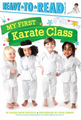 My first karate class