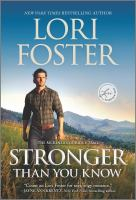 Stronger Than You Know--A Novel