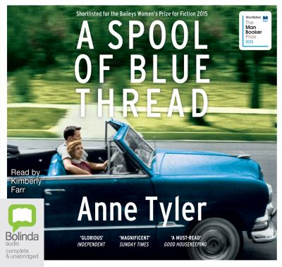 Audiobook cover for A spool of blue thread