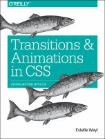 Transitions and animations in CSS : adding motion with CSS