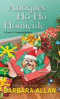 Antiques Ho-ho-homicide
