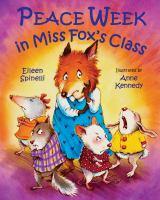 Peace Week in Miss Fox's Class.