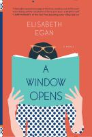 A window opens : a novel