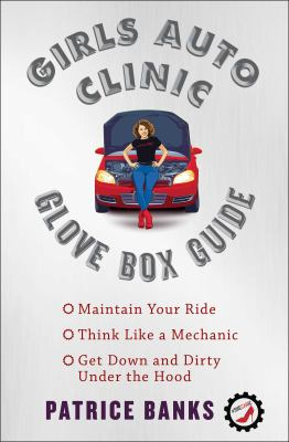 Book cover for Girls auto clinic glove box guide