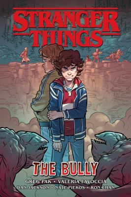 Book cover for  Stranger things. The bully