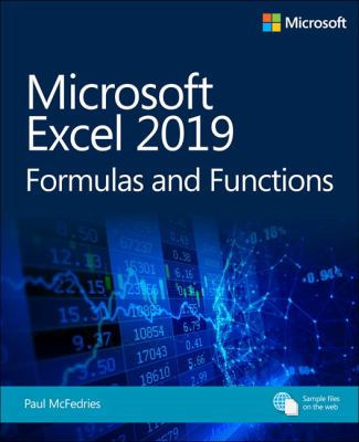 Microsoft Excel 2019 formulas and functions :  Formulas and Functions