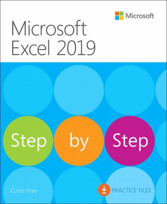 Microsoft Excel 2019 :  step by step