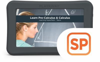 Learn Pre-Calculus & Calculus Learning SuperPack - Teens