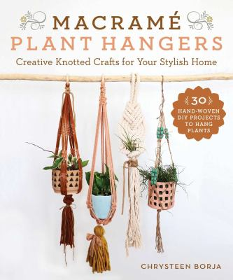 Book cover for Macrame plant hangers