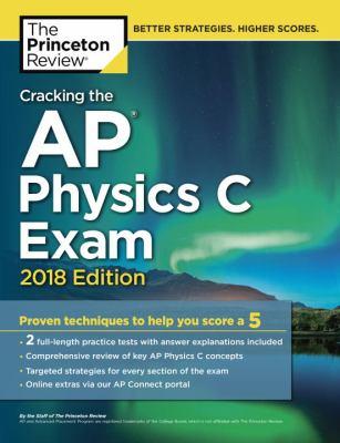 Cracking the AP physics C exam 2018