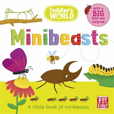 Cover image for :  Minibeasts : a little book of minibeasts  / Karabatzia, Villie, illustrator.