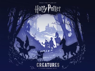 Cover Image for Harry Potter: Creatures: A Paper Scene Book