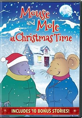 Mouse and Mole at Christmas time.