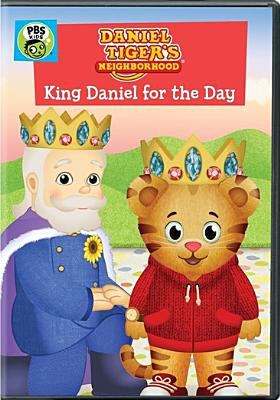 Daniel Tiger's neighborhood. King Daniel for the day.