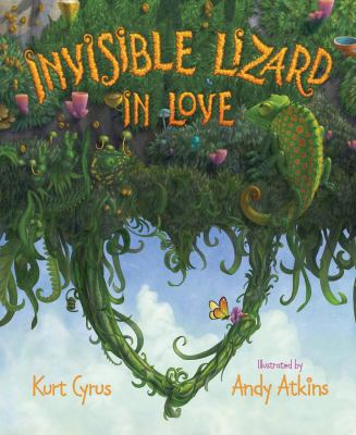 Invisible lizard in love