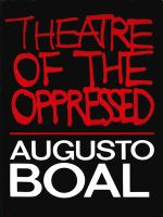 Theatre of the Oppressed.