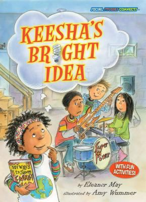 Keesha's bright idea.