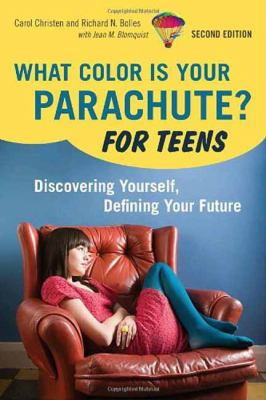 Book cover for What color is your parachute? for teens