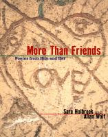 More than friends : poems from him and her