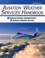 Aviation Weather Services Handbook