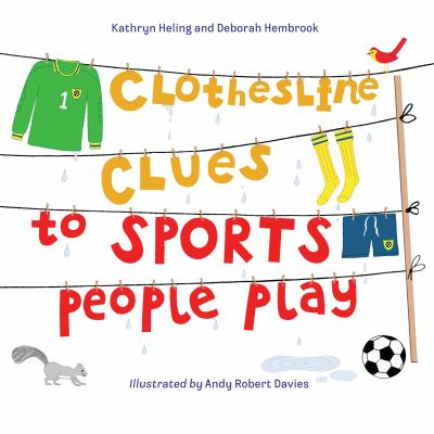 Clothesline clues to sports people play.