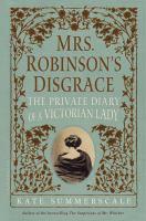 Mrs. Robinson's Disgrace