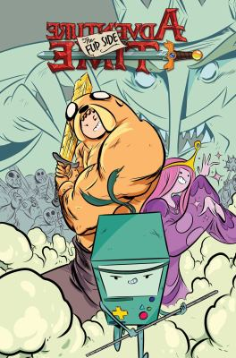 Cover Image for Adventure time. The flip side