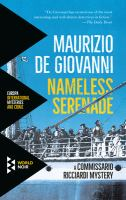 Nameless serenade : nocturne for Commissario Ricciardi
