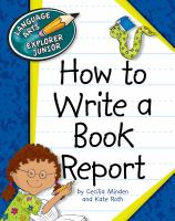 How to Write a Book Report.