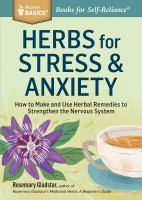Herbs for Stress & Anxiety.