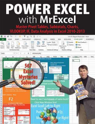 Power Excel with MrExcel : 567 Excel mysteries solved