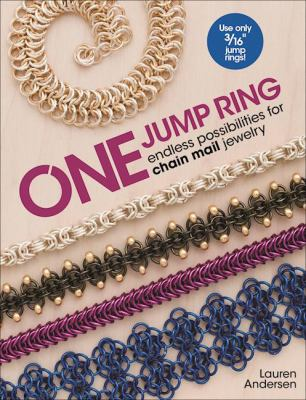 One jump ring :  endless possibilities for chain mail jewelry