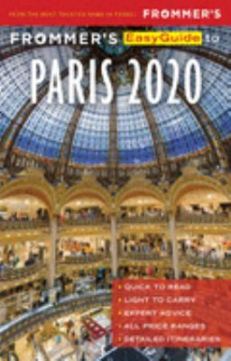 Frommer's EasyGuide to Paris 2020