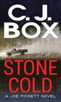 Stone Cold by CJ Box book cover