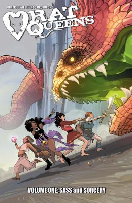 Rat Queens. Volume 1, issue 1-5, Sass and sorcery