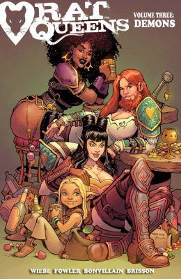Rat Queens. Volume 3, Issue 11-15, Demons