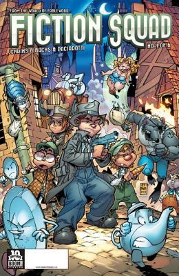 Fiction squad : Kid Detective / written by Paul Jenkins ; illustrated by Humberto Ramos. Issue 4
