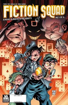 Fiction squad : Kid Detective / written by Paul Jenkins ; illustrated by Humberto Ramos. Issue 5