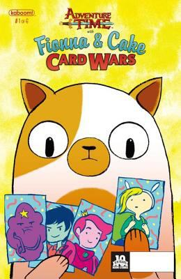Adventure Time with Fionna & Cake. Issue 1, Card wars