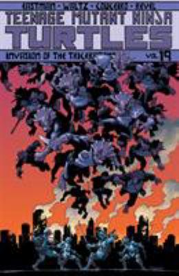Teenage Mutant Ninja Turtles :  Invasion of the Triceratons Volume 19, Invasion of the triceratons